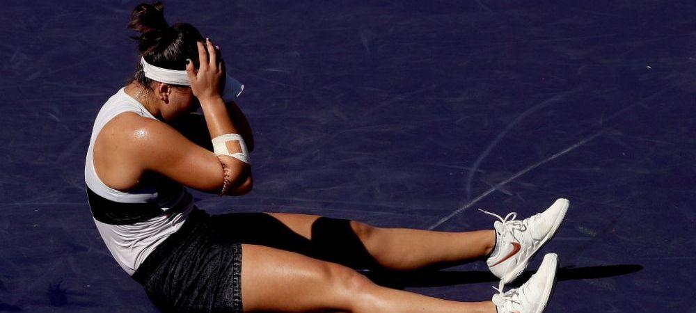 Situatie delicata pentru Bianca Andreescu: poate rata turneul de la Wimbledon! Ce a patit campioana de la Indian Wells