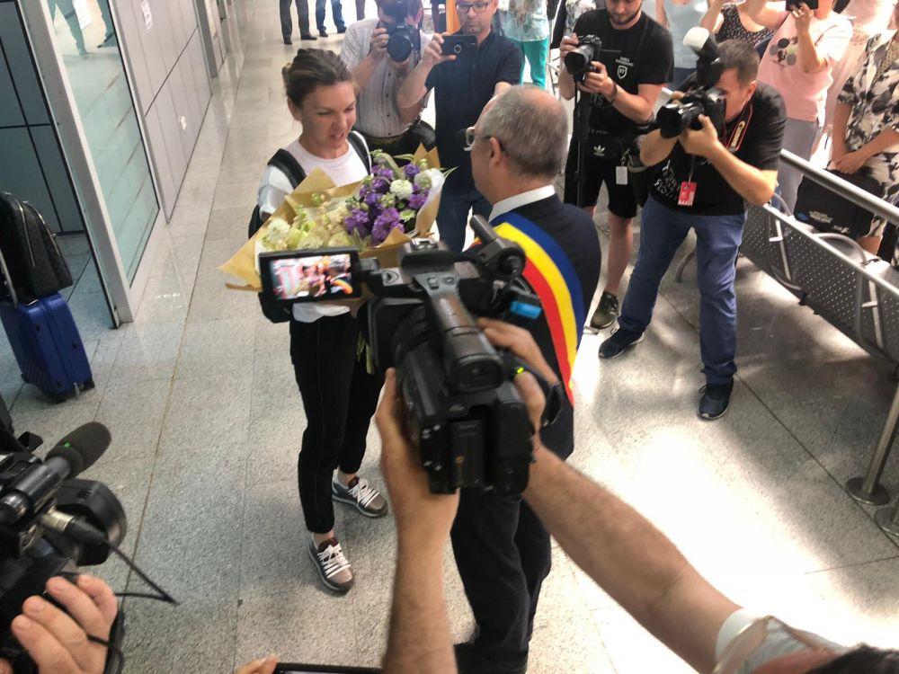 Sports Festival: Simona Halep, Darren Cahill si Marius Copil au ajuns la Cluj. FOTO