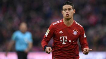 """""""Il vreau pe James!"""" Anunt de ultima ora in Italia! Unde ajunge starul de care Bayern si Real nu mai au nevoie"""