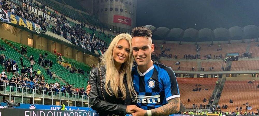 """E mai frumoasa ca Wanda Nara!"" BOMBA SEXY care i-a innebunit pe fanii lui Inter! Ce imagine a postat iubita lui Lautaro"