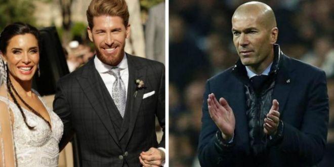 Motivul real pentru care Zinedine Zidane a lipsit de la nunta lui Sergio Ramos!