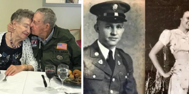 Un veteran de razboi si-a revazut prima iubita dupa 75 de ani. Barbatul:  Te-am iubit mereu