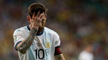 Dezastru pentru Messi la Copa America! Record negativ pentru nationala Argentinei! De 40 de ani nu s-a mai intamplat asa ceva!