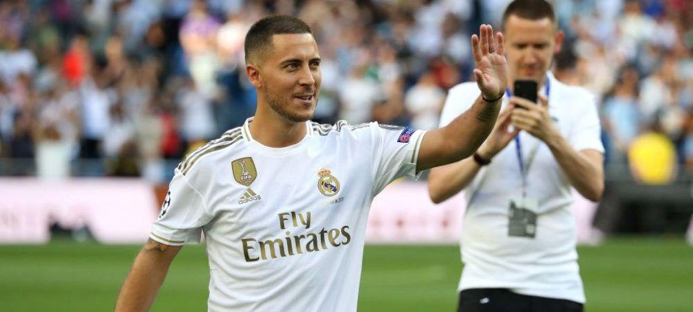 """""""Sunt belgian, dar tineam cu Franta pentru Zidane"""" Eden Hazard, dezvaluiri FABULOASE! Ce a spus despre antrenorul lui Real Madrid!"""