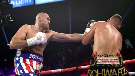 Tyson Fury a facut spectacol in Las Vegas!  Nu poate fi atins!  Momentul in care fanii s-au ridicat in picioare! VIDEO FABULOS