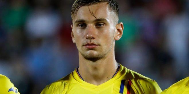 ROMANIA U21 | Denis Dragus a parasit cantonamentul nationalei!  L-am lasat pe Ianis responsabil cu golurile  Ce a spus despre accidentare!