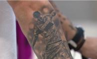 """Si-a dat singur Like! Hanca si-a facut tatuaj cu... Hanca! :) """"Ma simt excelent in Polonia, sunt pregatit pentru echipa nationala!"""""""