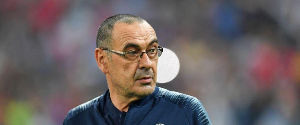 OFICIAL! Maurizio Sarri este noul antrenor al celor de la Juventus! A fost prezentat oficial