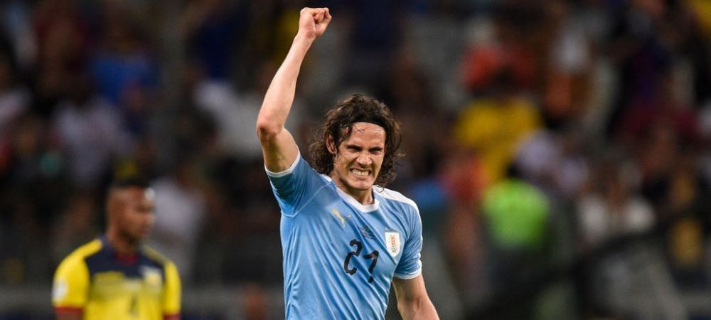 COPA AMERICA | Stop joc! Cavani tocmai a marcat un gol EXTRATERESTRU! Uruguay s-a distrat cu Ecuador