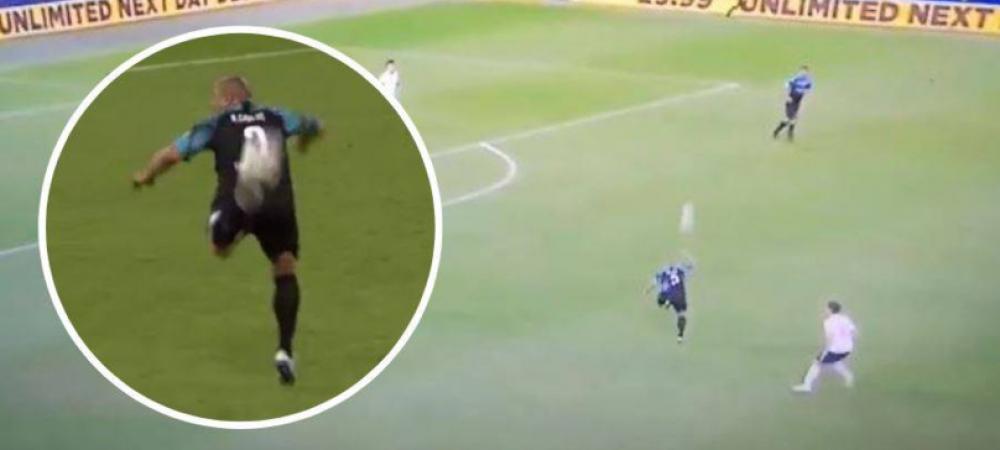 Roberto Carlos, pasa SCANDALOASA cu calcaiul, la 46 de ani! Legenda Realului a facut spectacol pe teren. VIDEO