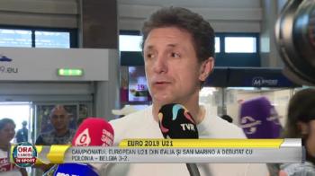 """""""Nu am avut niciodata o nationala de tineret atat de valoroasa!"""" Pariul lui Gica Popescu inainte de Euro: """"Putem trece de grupe!"""""""