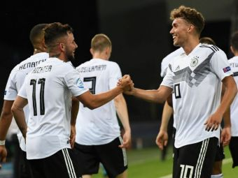 EURO U21 | Germania - Danemarca 3-1! Ultima data cand danezii nu au pierdut in fata Germaniei a fost in urma cu 19 ani
