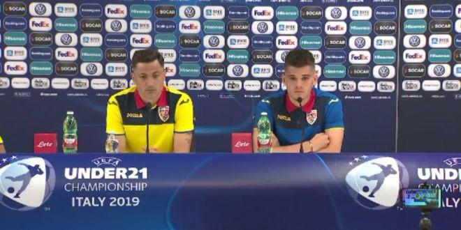 ROMANIA U21 - CROATIA U21 | Radoi, pregatit de debutul la EURO! Singurul lucru de care se teme:  Daca vom trece de acest prag, va fi foarte greu sa fim invinsi indiferent de adversar!