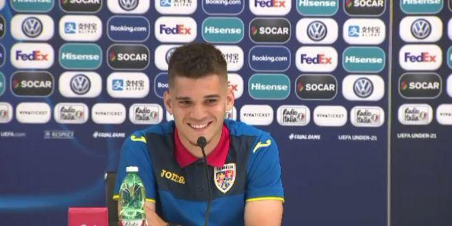 ROMANIA U21 - CROATIA U21 |  E cea mai grea grupa de la EURO, dar putem fi surpriza Campionatului European!  Cum a reactionat Ianis Hagi cand a fost intrebat despre un viitor transfer