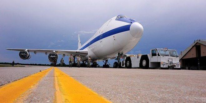 Iata ce se intampla in Avionul Apocalipsei! E proiectat sa reziste unui razboi nuclear!