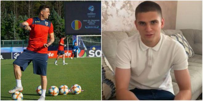 ROMANIA U21: Razvan Marin, mesaj special pentru jucatori inaintea debutului la EURO U21:  Imi pare rau ca nu sunt acolo  VIDEO
