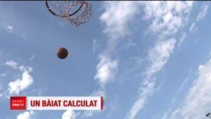 Un roman, olimpic la matematica, numara zilele pana cand va ajunge in NBA! E de nota 10 la baschet
