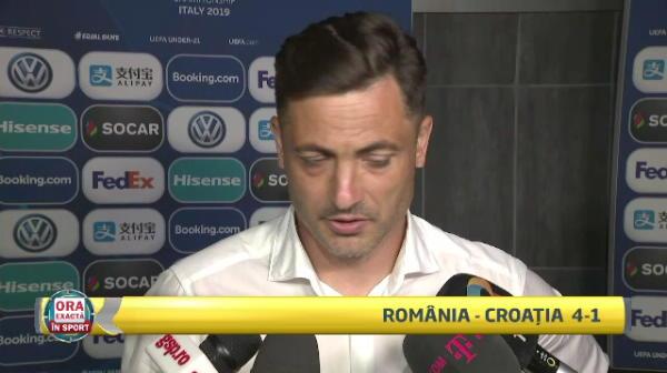 """ROMANIA - CROATIA 4-1, la EURO U21   Mirel Radoi: """"Sincer, nici nu imi imaginam! Nu visam!!!"""" Semnalul de alarma tras de selectioner dupa debutul fenomenal al Romaniei U21"""