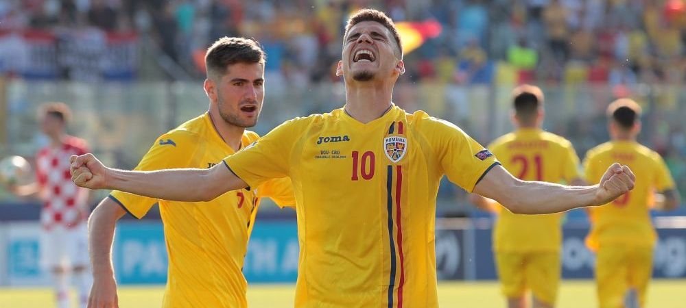 ROMANIA - CROATIA 4-1 la EURO U21 | Mesaj fabulos al celor de la UEFA pentru Ianis Hagi! Ce au putut sa scrie dupa ce a marcat cu Croatia