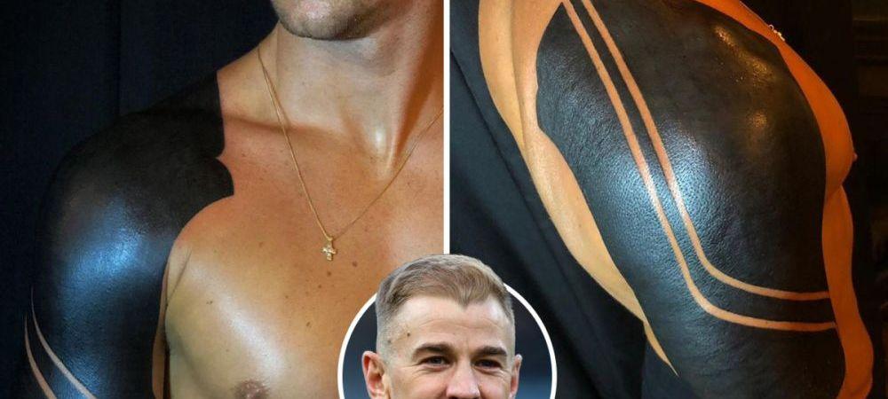 """""""Nu e pentru gusturile tuturor"""" Ce tatuaj incredibil si-a facut Joe Hart. FOTO"""