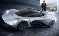 Aston Martin a lansat noua masina a lui James Bond: Valhalla costa 2 milioane euro si are 1000 de cai. FOTO