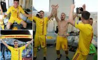 ROMANIA U21, imaginile unei seri memorabile la EURO U21. MEGA galerie FOTO cu bucuria pustilor lui Radoi
