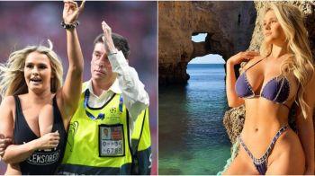 """""""Eu, in filme pentru adulti? Poate nu stiati asta"""" Ce ocupatie are in realitate femeia care a patruns pe teren la finala Champions League. FOTO"""
