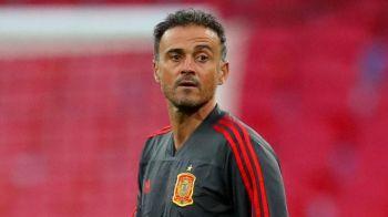 Luis Enrique, OUT de la nationala Spaniei inainte de meciul cu Romania! Cine ii ia locul