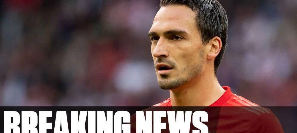 BREAKING NEWS: Hummels a plecat de la Bayern! TOTUL e oficial. Unde va juca
