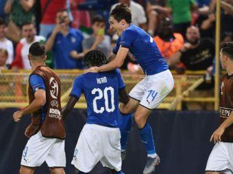 EURO U21   Italia - Polonia, LIVE 1-0! Surpriza totala: Bielik deschide scorul! Italienii au avut un gol anulat de VAR