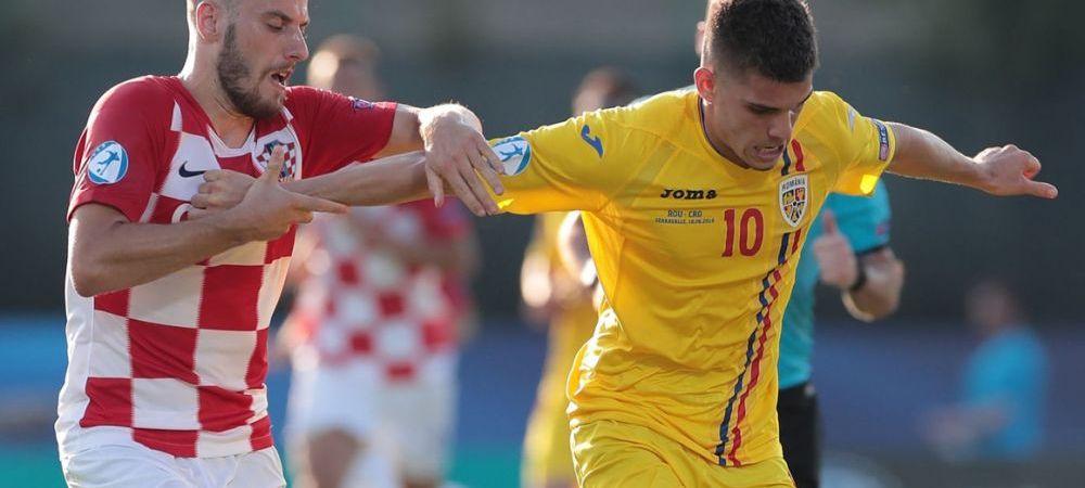 EURO U21: A dat gol in Romania - Croatia si a prins un transfer de 15 MILIOANE euro! ULTIMA ORA