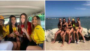 EURO U21: Iubitele romanilor au INCINS plaja din Rimini. Aparitie HOT in costume de baie. FOTO