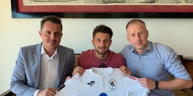 INTARIRI pentru Edi Iordanescu si Gaz Metan Medias! Mediesenii au mai realizat un transfer! Jucatorul a fost prezentat oficial