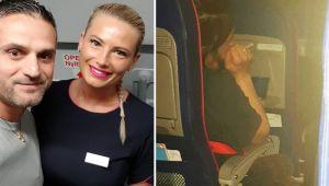 """Marius se afla intr-un avion pe ruta Birmingham-Bucuresti. Ce a facut aceasta stewardesa e neasteptat: """"La un moment dat se ridica, merge in spate…"""""""
