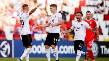 DANEMARCA - AUSTRIA 3-1, la EURO U21 | Grupa B se complica dupa victoria danezilor! Austria a ratat penalty la 1-1. Fazele meciului