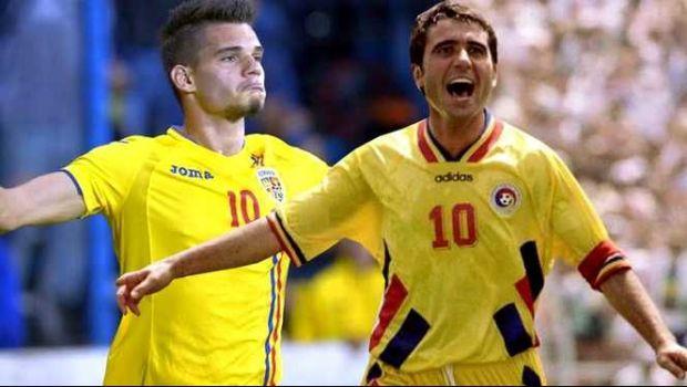 ROMANIA LA EURO U21    Pe teren, Gica Hagi nu e tatal meu! E antrenorul meu . Ianis Hagi, interviu pentru UEFA dupa debutul de senzatie de la EURO
