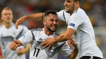 GERMANIA - SERBIA 6-1, la EURO U21   Germania face scorul turneului final si se gandeste la semifinale. Sarbii, in genunchi