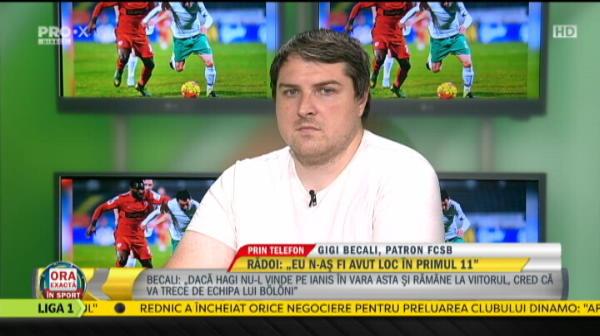 """""""Gata, el o sa joace! indiferent cat greseste, el o sa joace! E fotbalist de zeci de milioane!"""" Becali a anuntat primul titular pentru noul sezon"""