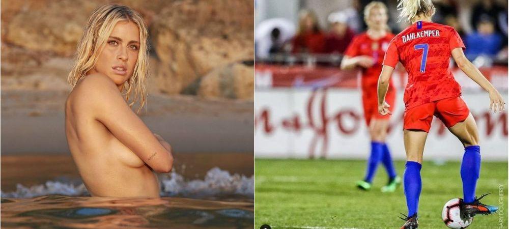 Cea mai SEXY jucatoare de la Cupa Mondiala de fotbal feminin a pozat GOALA. Imagini incendiare. FOTO