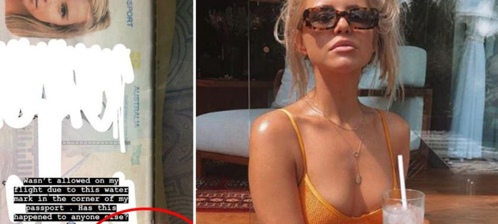 Prizoniera in paradis. Ce a patit femeia al carei pasaport s-a decolorat in vacanta. FOTO