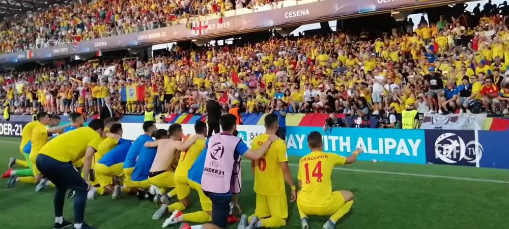 VIDEO FANTASTIC: IMAGINILE care n-au fost difuzate pana acum! Ce s-a intamplat pe gazon si in vestiar dupa victoria FABULOASA a Romaniei contra Angliei