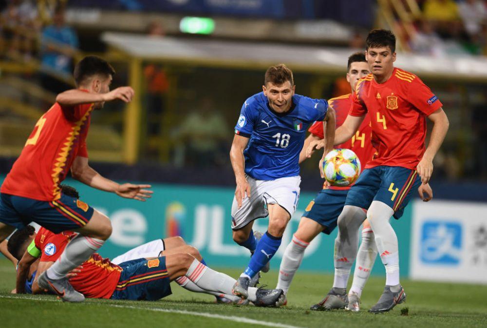 ITALIA U21 - BELGIA U21; SPANIA U21 - POLONIA U21