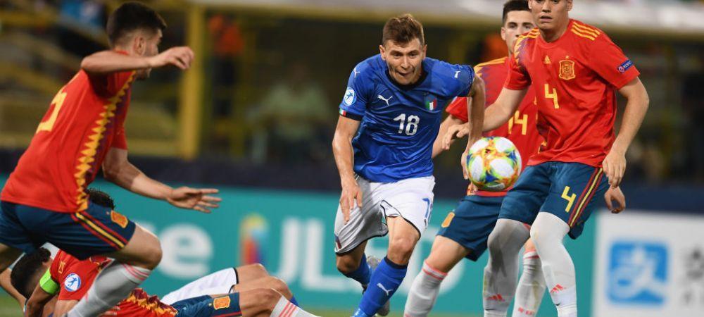 ITALIA U21 3-1 BELGIA U21 si SPANIA U21 5-0 POLONIA U21 | Seara nebuna! Spania e in semifinale, Italia depinde de Romania - Franta! Toate calculele