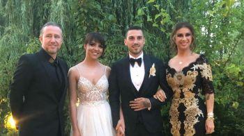 Nicolae Stanciu s-a casatorit! Imagini inedite de la nunta fotbalistului nationalei: cum s-a imbracat Anamaria Prodan. FOTO + VIDEO