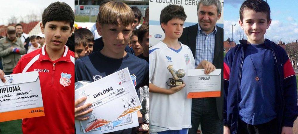 Imagini de colectie cu jucatorii de la U21! Cum aratau in copilarie eroii de la EURO U21