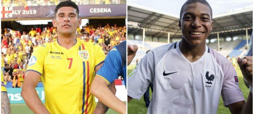 "EURO 2019: Cum a reactionat selectionerul Frantei cand a auzit ca Florinel Coman e poreclit ""Mbappe"" de Romania!"