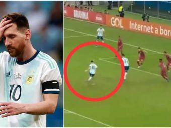 """Leo Messi, RATAREA CARIEREI la Copa America! """"Asta spune totul despre cariera lui la nationala!"""" VIDEO"""