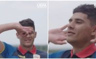 EURO 2019: Florinel Coman le-a aratat celor de la UEFA cum se bucura la goluri! Ce a pregatit la Romania - Franta U21! VIDEO
