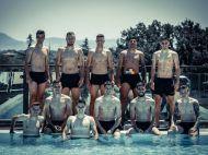 EURO U21: Relaxare in piscina de la Forli. Pustii lui Radoi se pregatesc de duelul cu Germania de joi! FOTO