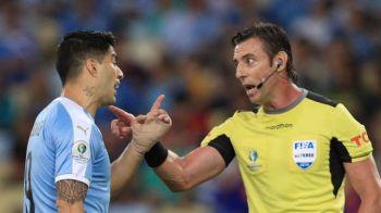 Asta le intrece pe toate! Luis Suarez a cerut hent la portar in meciul cu Chile, de la Copa America :)) Faza e fabuloasa: VIDEO